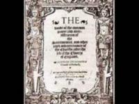 Os Trinta e Nove Artigos da Religião (1563)